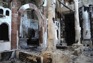 The Church, attacked by Muslims